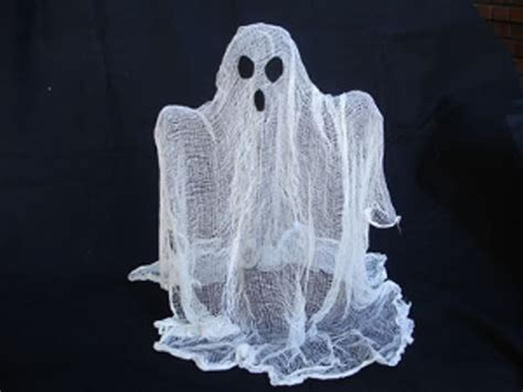 Homemade Halloween Decorations Ghost Centerpieces With