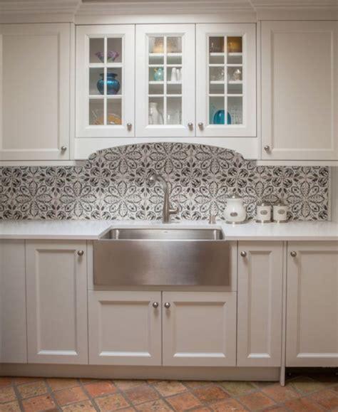 patterned tiles for kitchen backsplash suzette fox interior design 4108