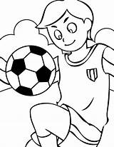 Coloring Pages Sports Playing Printable Colouring Cool sketch template