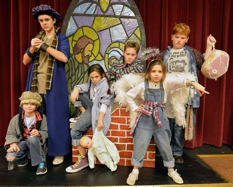 Cast Presents Allkids Production Of 'best Christmas