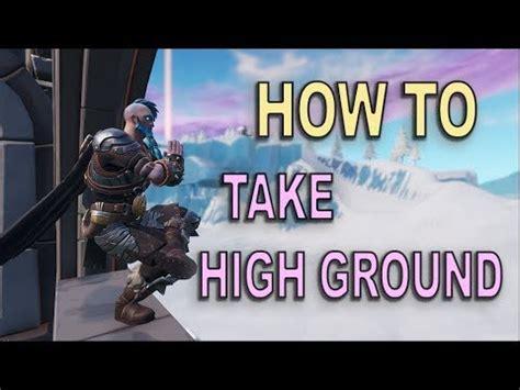 high ground fortnite br youtube