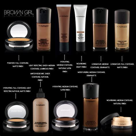 Hair Shade Guide by Mac Cosmetics Foundation Shade Guide Via Bgfcommunity