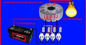 How To Make Inverter 12v To 220v Unlimited Watts  Met