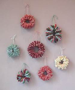 Crafting on a Bud DIY Upcycled Felted Sweater Ornaments