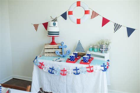 Nautical Baby Shower - host a nautical baby shower