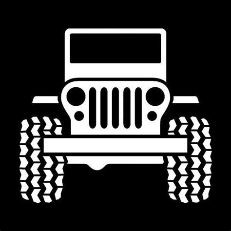 jeep wrangler logo vinyl decal sticker mopar grand cherokee renegade compass 086 ebay