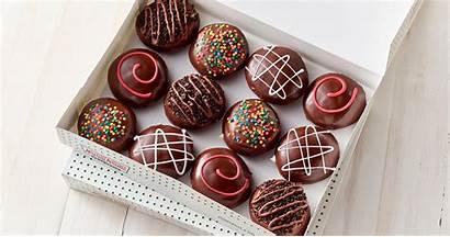 Krispy Kreme Chocolate Doughnuts Glaze Glazed Dozen