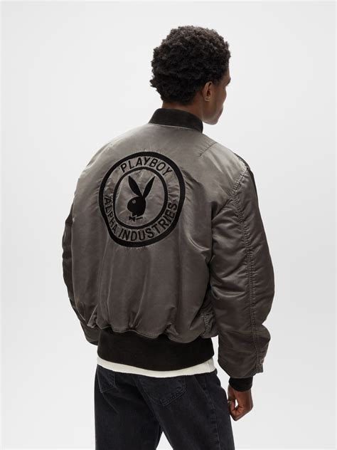 Alpha Industries Collaborates With Playboy