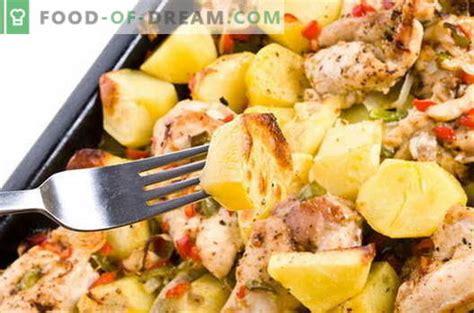 Kartupeļi ar gaļu - labākās receptes. Kā pareizi un ...