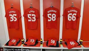 Liverpool FC Numbers