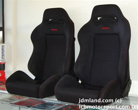 siege semi bacquet used honda dc2 integra type r black recaro seats sold