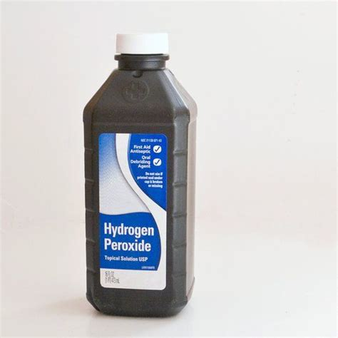 Hydrogen Peroxide Households Cleaning Pinterest