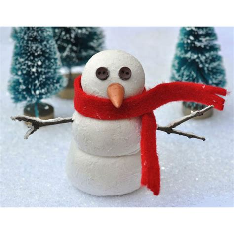 snowman polymer clay perles co