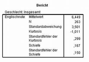 Normalität Berechnen : lrz spss special topics einige grundbegriffe der statistik ~ Themetempest.com Abrechnung