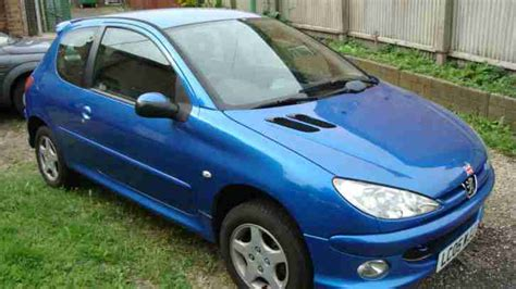 peugeot sports cars for sale peugeot 2005 206 sport blue car for sale