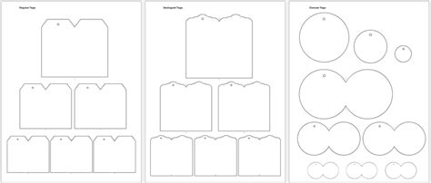 tag template word 5 gift tag templates to create a personalized gift tag