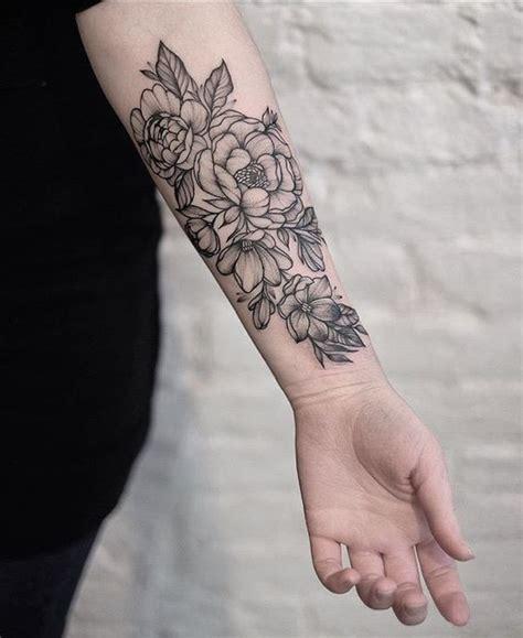 cutest flower tattoo designs  girls  inspire