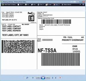 Shipping integrator getting started with fedex for Fake shipping label