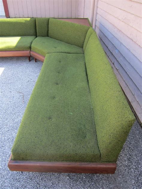wonderful adrian pearsall  piece sectional sofa mid