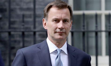 Former health secretary Jeremy Hunt backs circuit breaker ...