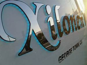 sundance signs wood and stainless steel sign gallery With stainless steel boat lettering
