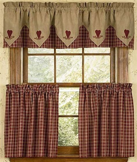 photo of cafe style curtains for kitchen click on