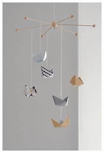 Mobile Basteln Origami : diy mobile im nordic style dekoration innenarchitektur architektur interior inspiration ~ Orissabook.com Haus und Dekorationen