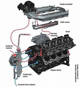 For 6 0 Powerstroke Egr Valve And Cooler System Diagram