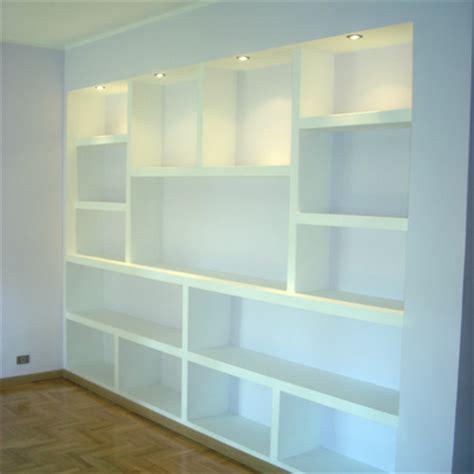 Costruire Libreria A Muro by Realizzare Parete In Cartongesso