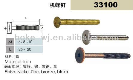 high quality hot sell furniture screws  cabinet buy