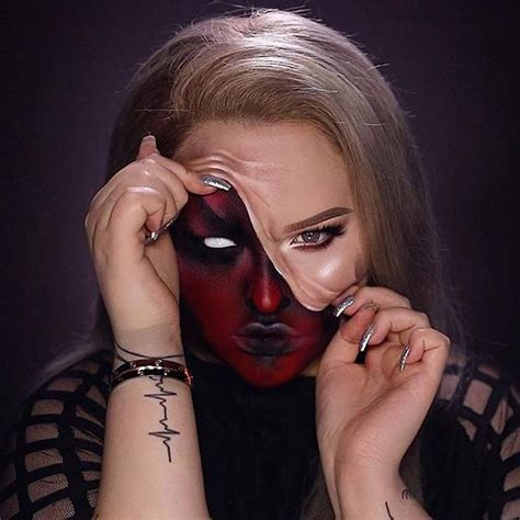 creepy halloween makeup ideas page    stayglam