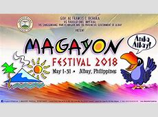 2019 MAGAYON FESTIVAL SCHEDULE OF ACTIVITIES The Happy Trip