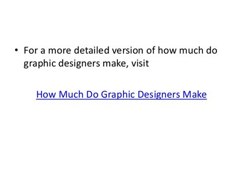 how much does a graphic designer make how much do graphic designers make