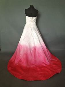 strapless silk pink ombre wedding prom formal dress With pink ombre wedding dress