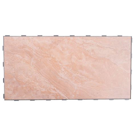 Snapstone Tile Home Depot by Snapstone 12 In X 24 In Porcelain Floor Tile 8 Sq