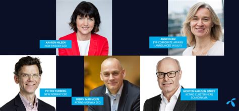 Changes To Telenor Group's Executive Management