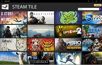 Steam Games Tiles Windows Create Surfaced Leaked