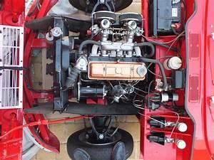 Triumph Spitfire4  Mk1  Engine Bay Looking Very Clean