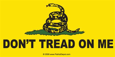 rate kitchen knives don 39 t tread on me bumper sticker 5 pack patriot depot