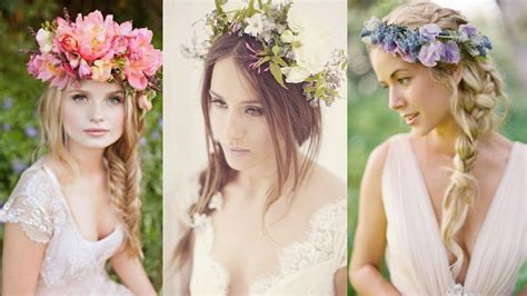wedding hairstyles  flowers images  pictures