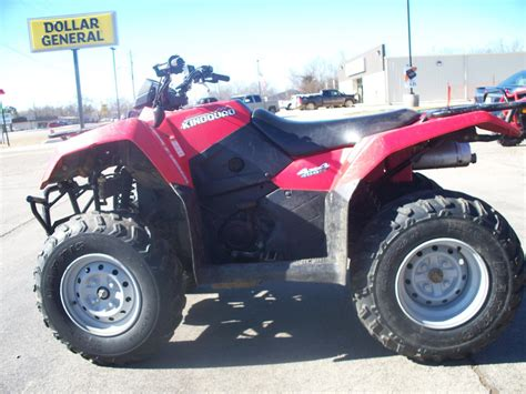 Suzuki Atvs For Sale by Page 100149 New 2009 Suzuki Kingquad 450 In Antlers Ok