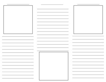 Tri State Lesson Plan Template by Brochure Template By The Techie Teacher Teachers Pay
