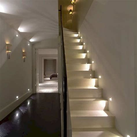 awesome staircase lighting ideas futurist architecture