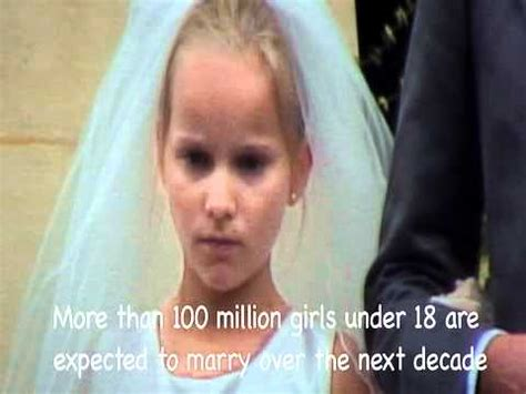 youngest age to get married married at age 12 youtube