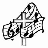Crosses Cool Draw Cliparts Christian Coloring Clip Church Religious Clipart Choir Gospel sketch template