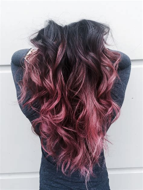 Beautiful Dusty Rose Pink Ombre Hair Pinkhair Rosehair