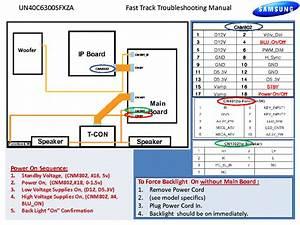 Samsung Un40c6300sfxza Fast Track Guide Service Manual