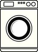 Weichspüler Symbol Waschmaschine : clipart nein waschmaschine zeichen k19973541 suche clip art illustration wandbilder ~ Markanthonyermac.com Haus und Dekorationen