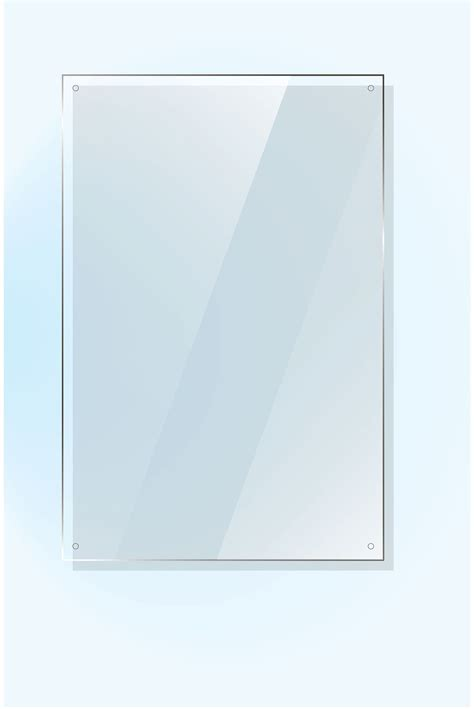 Sheet mirror glass Inovodecorcom