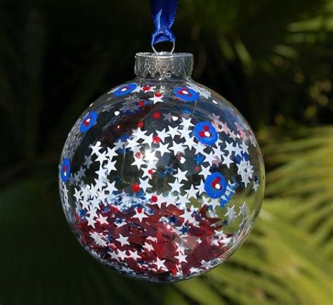patriotic red white blue christmas ideas blue